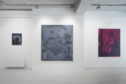 Instalation view at Gallery Čin Čin, Bratislava, Slovakia, 2017